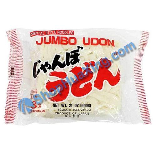 04 Jumbo Udon 3 packs 日本乌冬面 600g