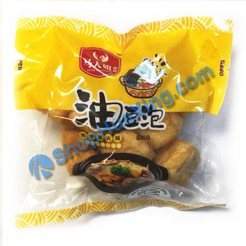 05 Fried Bean Curd 马大姐厨坊 油豆泡 140g