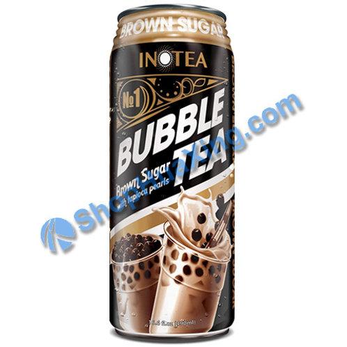 04 InoTea Bubble Tea Brown Sugar 黑糖味 珍珠奶茶 490ml
