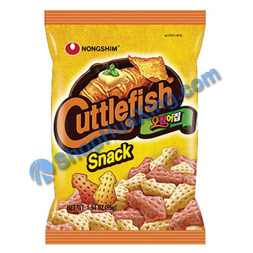 07 Nongshim Cuttle Fish Snack 农心 鱿鱼脆片 55g