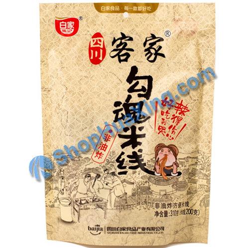 04 Rice Noodle Spicy Flv 白家 四川客家勾魂米线 310g
