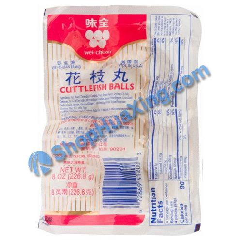 05 WC Cuttlefish Ball 味全 花枝丸 8oz