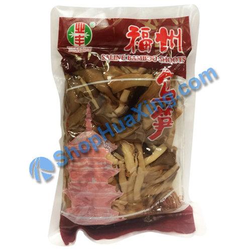 01 Saline Bamboo Shoots 业丰 福州乌笋 400g