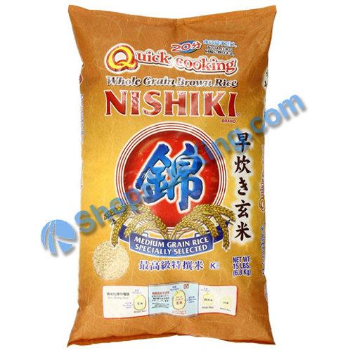 04 Nishiki Brown Rice 锦 早炊玄米 15LB
