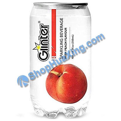 04 Glinter Sparkling Beverage w. Peach Flv. 苏打汽水 水蜜桃味 350ml