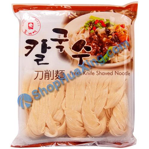 06 Fresh Knife Shaved Noodle 金之味 新鲜刀削面 1kg