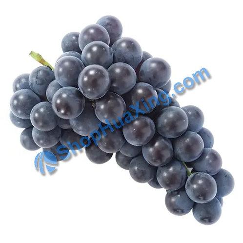 01 Black Seed Table Grape Kyoho Grapes 巨峰葡萄 3LB