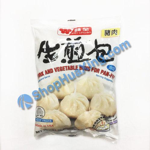 05 WC Pan Fried Pork Bun 味全生煎包 猪肉 20oz