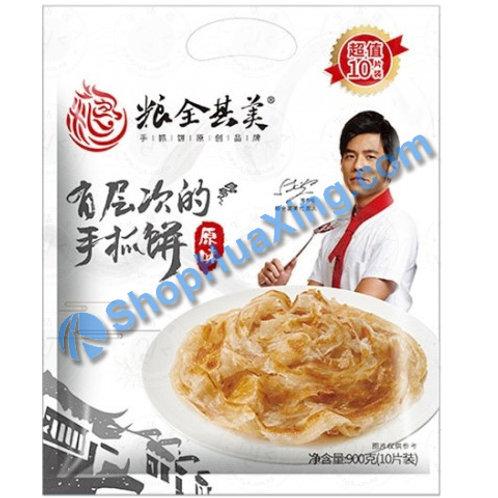 05 Frozen Puff Paratha Original 粮全其美手抓饼 原味 900g