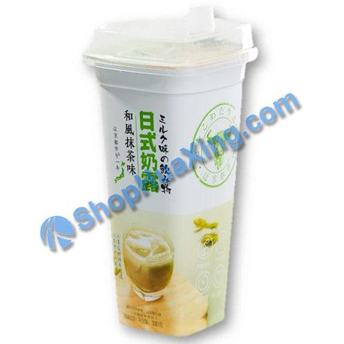 04 Instant Matcha Flv Milk Drink 日式奶露 和风抹茶味 330g