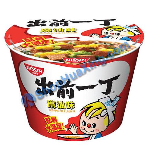 03 Nissin Ramen Noodle w/ Sesame Oil Flv 出前一丁杯面 麻油味 110g