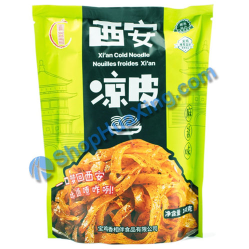 03 Xian Cold Noodle -Spicy Sesame Paste Flv 凤回首 西安凉皮 麻酱味 140g