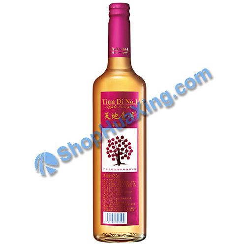 04 TianDi NO1 Apple Vinegar Beverage 天地壹号 苹果醋饮料 650ml