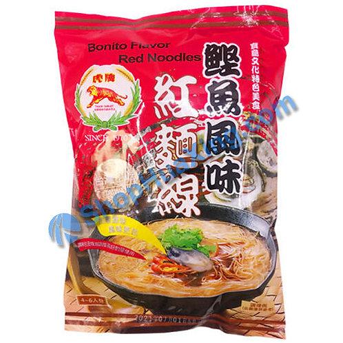 03 Bonito Flv. Red Noodles 虎牌 鲣鱼风味红面线 300g