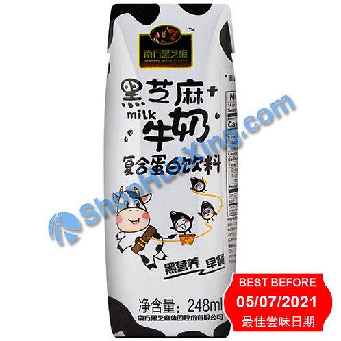 04 Black Sesame w. Milk Drink 南方黑芝麻牛奶复合蛋白饮料 248ml