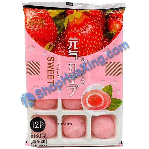 04 Mochi Strawberry Flv. 超佰味 元气丸子 草莓味 180g