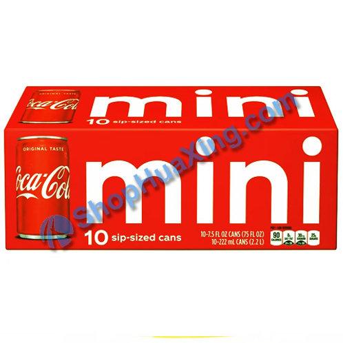 04 Mini Coca-Cola 迷你可口可乐 10PK X 7.5 oz