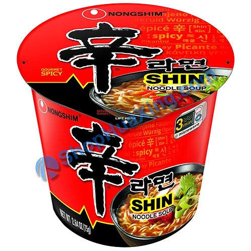 03 NongShim Shin Noodle Soup Spicy 农心 辛拉面 杯面  75g