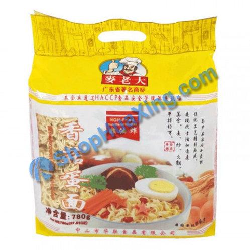03 Dried Mushroom Egg Noodle 麦老大 香菇蛋面 780g