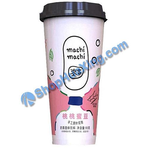 04 Machi Milk Tea Peach Flv 麦吉奶茶 桃桃蜜豆 95g