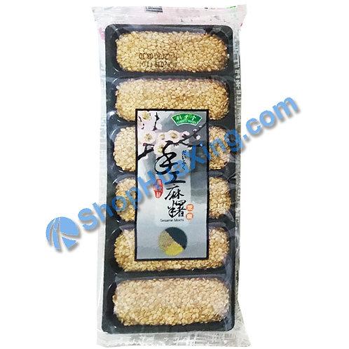 04 Sesame Mochi 竹叶堂 手工麻糬 芝麻 180g