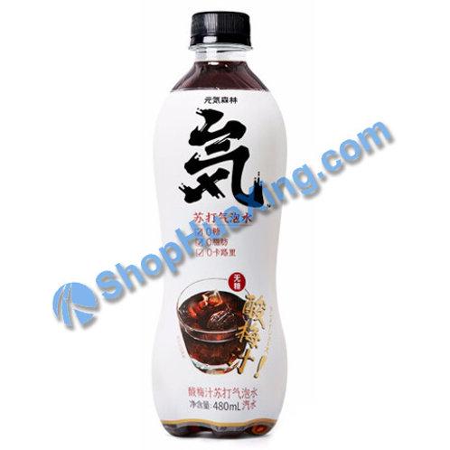 04 Soda Water Plum Flv. 元气森林 酸梅汁 480ml