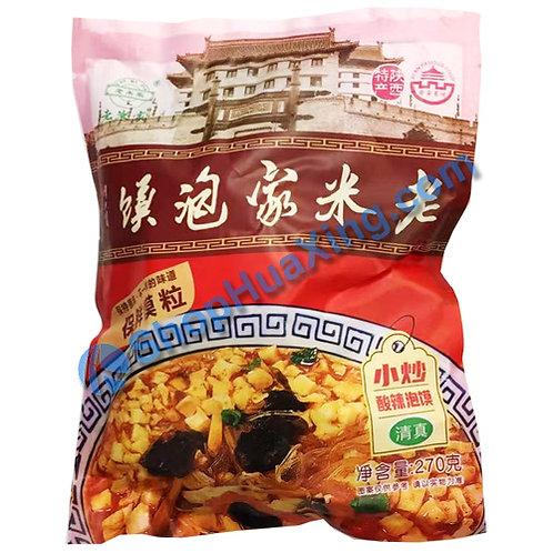 03 LMJ Paomo Instant Bread Soup Sour & Spicy 老米家泡馍 小炒酸辣泡馍 270g
