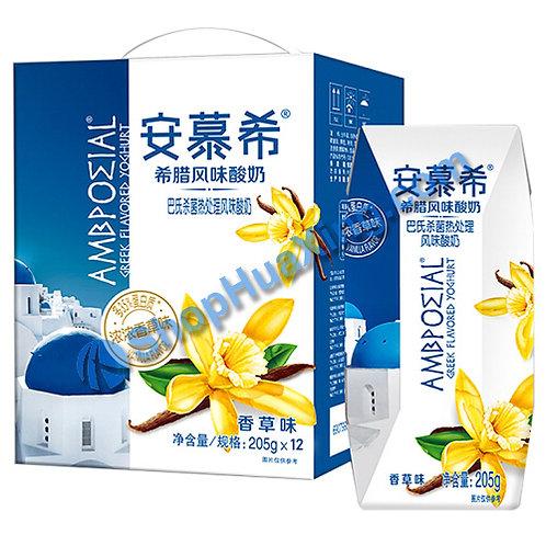05 AMX Yogurt Drink Vanilla 安慕希希腊风味酸奶 香草味 205g x 12 (1箱)