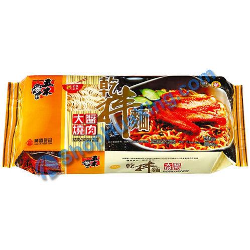 03 Dried Noodle w. BBQ Flv. Sauce 五木干拌面 大酱烧肉味 340g