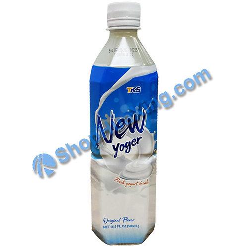 04 TKS New Yoger Yogurt drink Original Flv. (***2瓶***) 酸乳饮料 原味 500ml
