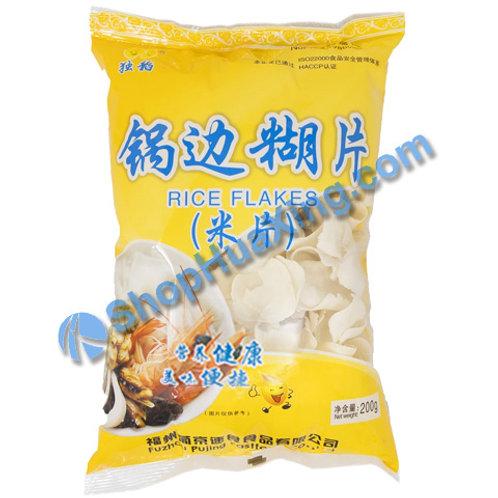 03 Rice Flakes 独稻 锅边糊片 200g