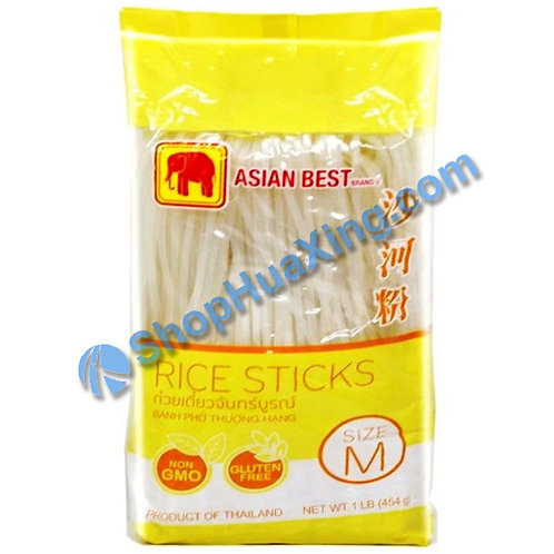 03 Asian Best Rice Sticks M 红象牌 沙河粉 中 454g