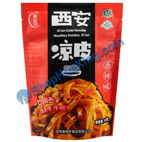 03 Xian Cold Noodle -Spicy Hot Flv 凤回首 西安凉皮 香辣味 140g