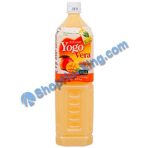 04 Yogurde Savila With Aloe Vera Mango Flv 韩式乳酸饮料 芒果味 1.5L