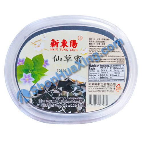 04 Grass Jelly 新东阳 仙草蜜 35.3oz