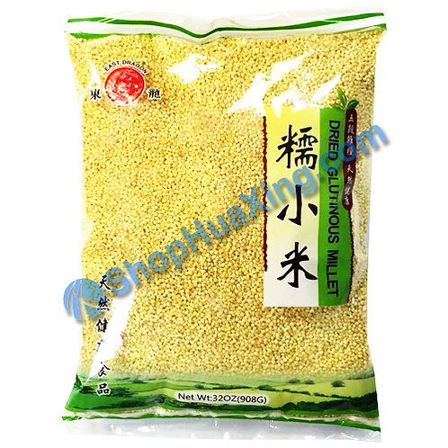 04 Dried Glutinous Millet 东龙 糯小米 908g