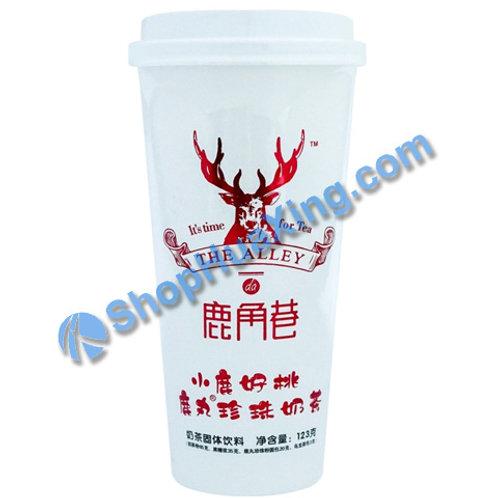 04 LJX Oolong Tea Flv Milk Tea 鹿角巷鹿丸珍珠奶茶 小鹿好桃 123g