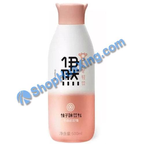 04 Sparkling Water Grapefruit Flv 伊然乳矿轻饮 柚子味 500ml