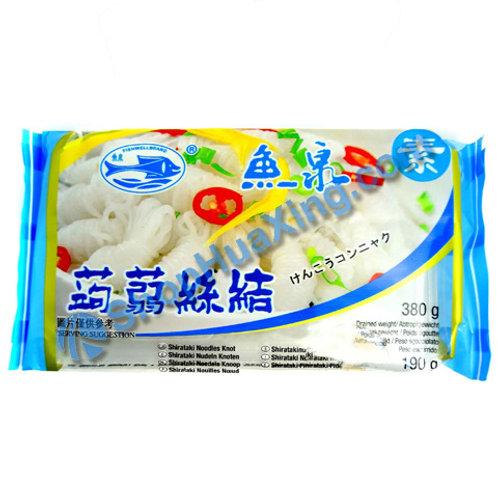 04 Konjac Noodle 鱼泉 蒟蒻丝结 380g