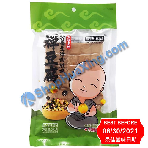 04 Dried Beancurd (***买1送1***) 聚善素斋 禅豆腐 200g
