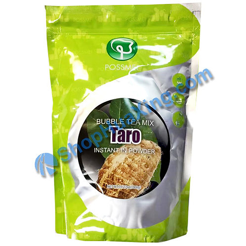 03 Possmei Bubble Tea Mix Instant in Powder Taro Flv. 珍珠奶茶粉 芋头味 1000g
