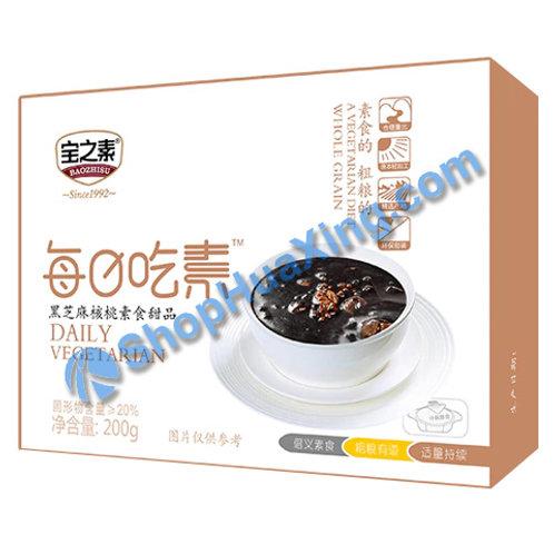 04 BZS Black Sesame & Walnut Dessert 宝之素 黑芝麻核桃素食甜品 200g