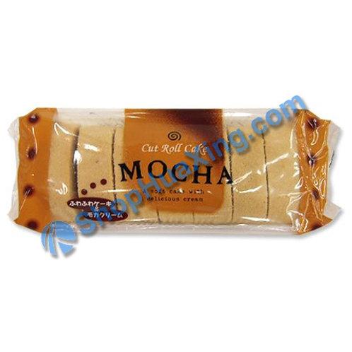 04 Cut Roll Cake Mocha Flv 摩卡咖啡味切片蛋糕卷 220g
