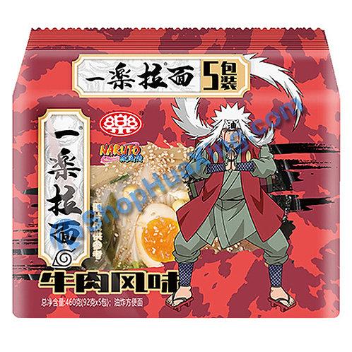 03 Ramen Ichiraku Beef Flv 一乐拉面 牛肉风味 92gX5包
