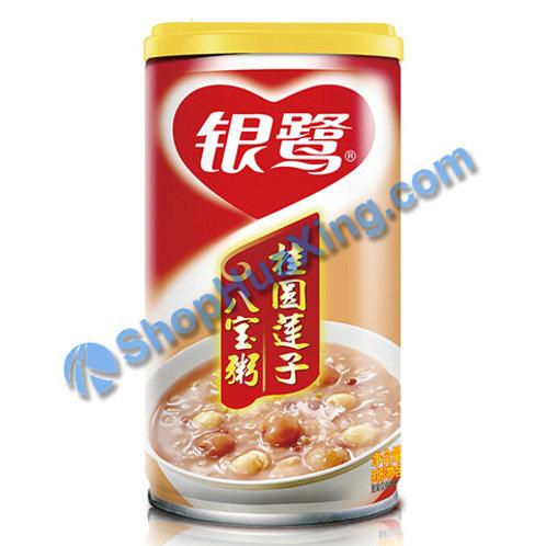 04 Mixed Congee 银鹭桂圆莲子八宝粥 360g