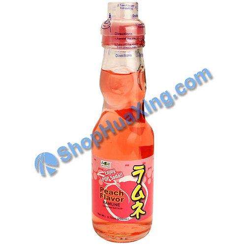 04 Mizuho Peach Flavor Ramune 弹珠汽水 水蜜桃味 200ml