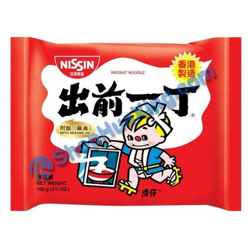 03 Nissin Instant Ramen w/ Sesame Oil 出前一丁面 麻油味 100g