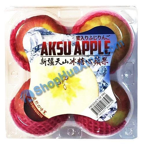 01 Aksu Apple 4pc 新疆天山冰糖心苹果 /4颗
