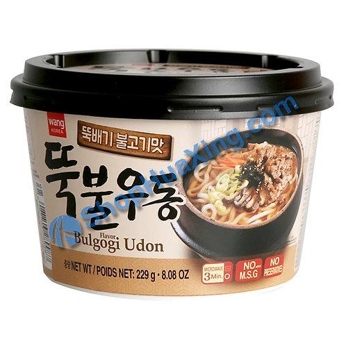 03 Wang Korea Bulgogi Flv Udon 韩式烤肉味乌冬面 碗装 229g