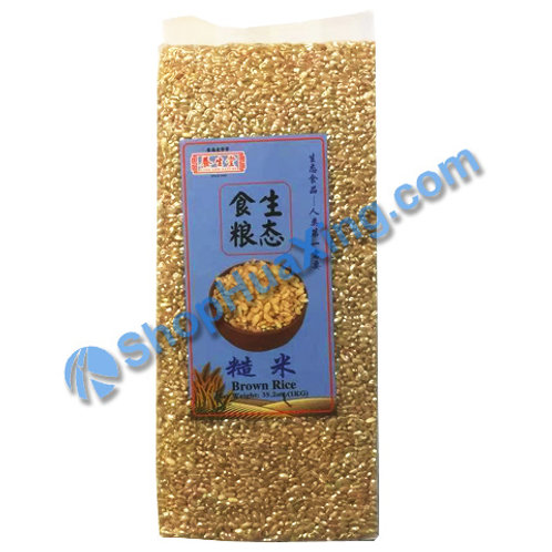 04 Long Life Nature Brown Rice  养生堂 糙米 1kg
